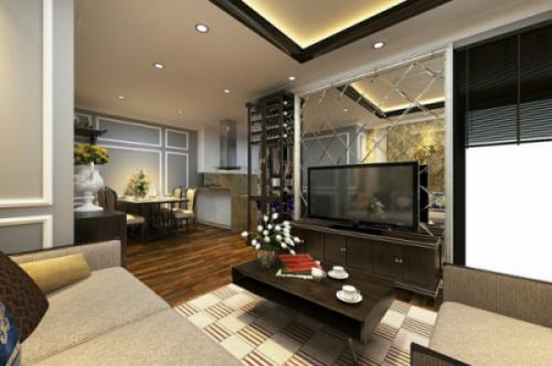 Nội thất căn hộ 68 m2- Greenstar 234 Phạm Văn Đồng-Hà Nội