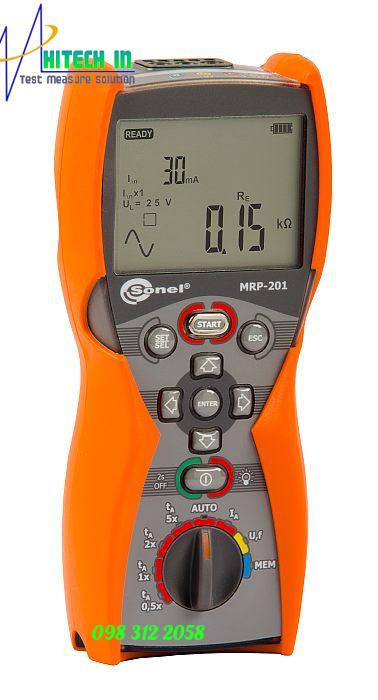 Thiết bị đo kiểm tra dòng RCD Sonel model MRP-201