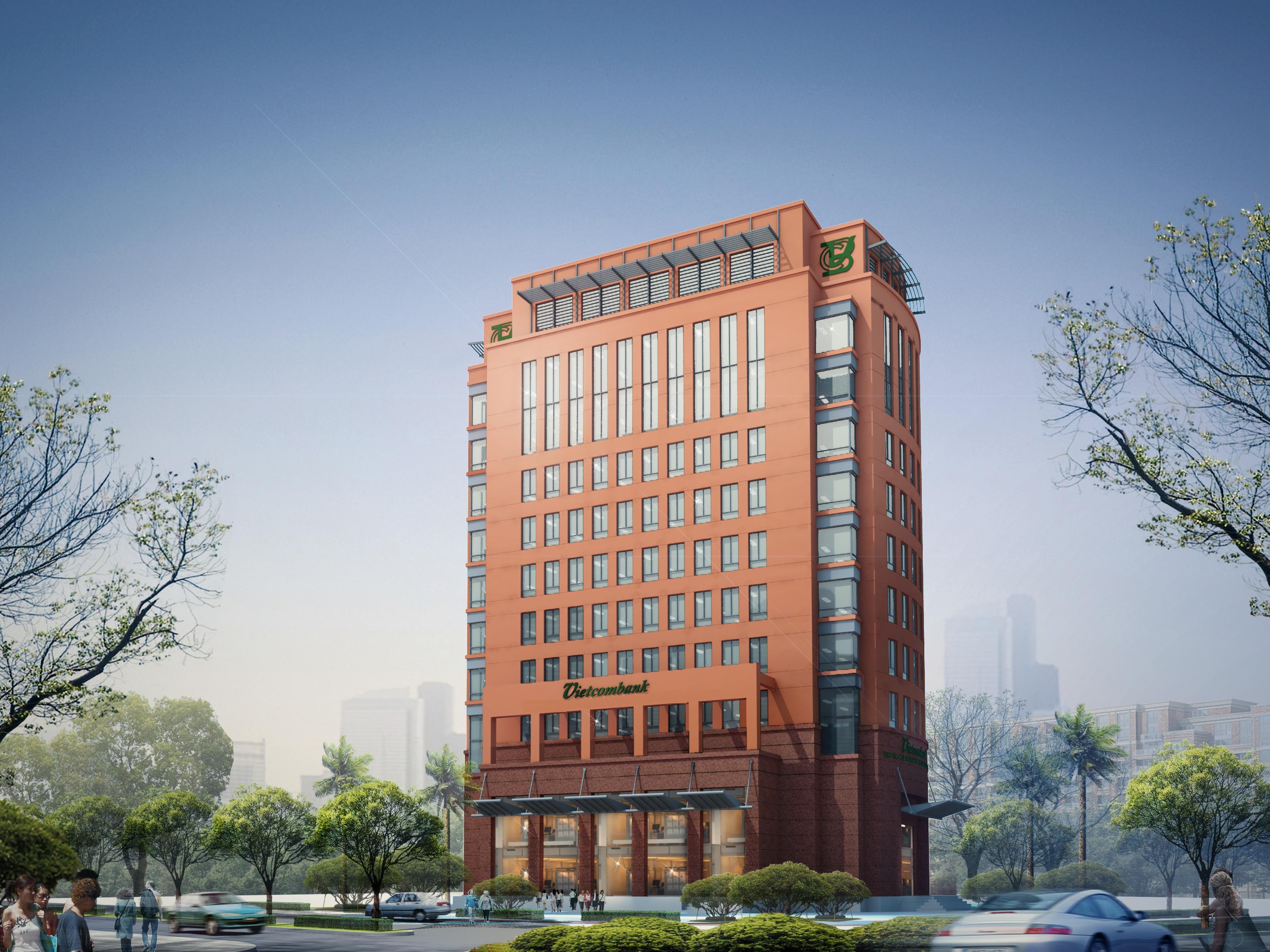 Hình ảnh thi công DA Ngân hàng Vietcombank - CN Bắc Giang
