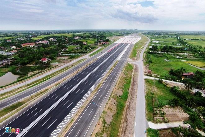 Hình ảnh thi công DA đường Cao tốc Hà Nội - Hải Phòng