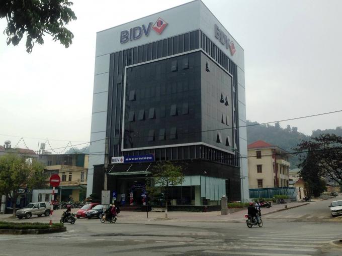 Hình ảnh thi công DA Ngân hàng BIDV - CN Bắc Kạn