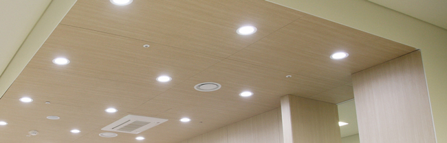 Xu hướng chiếu sáng dùng đèn led âm trần trong nhà