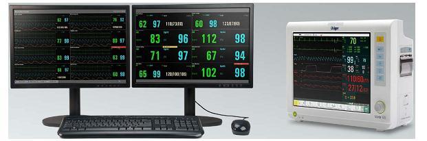 Monitor trung tâm cho Vista 120