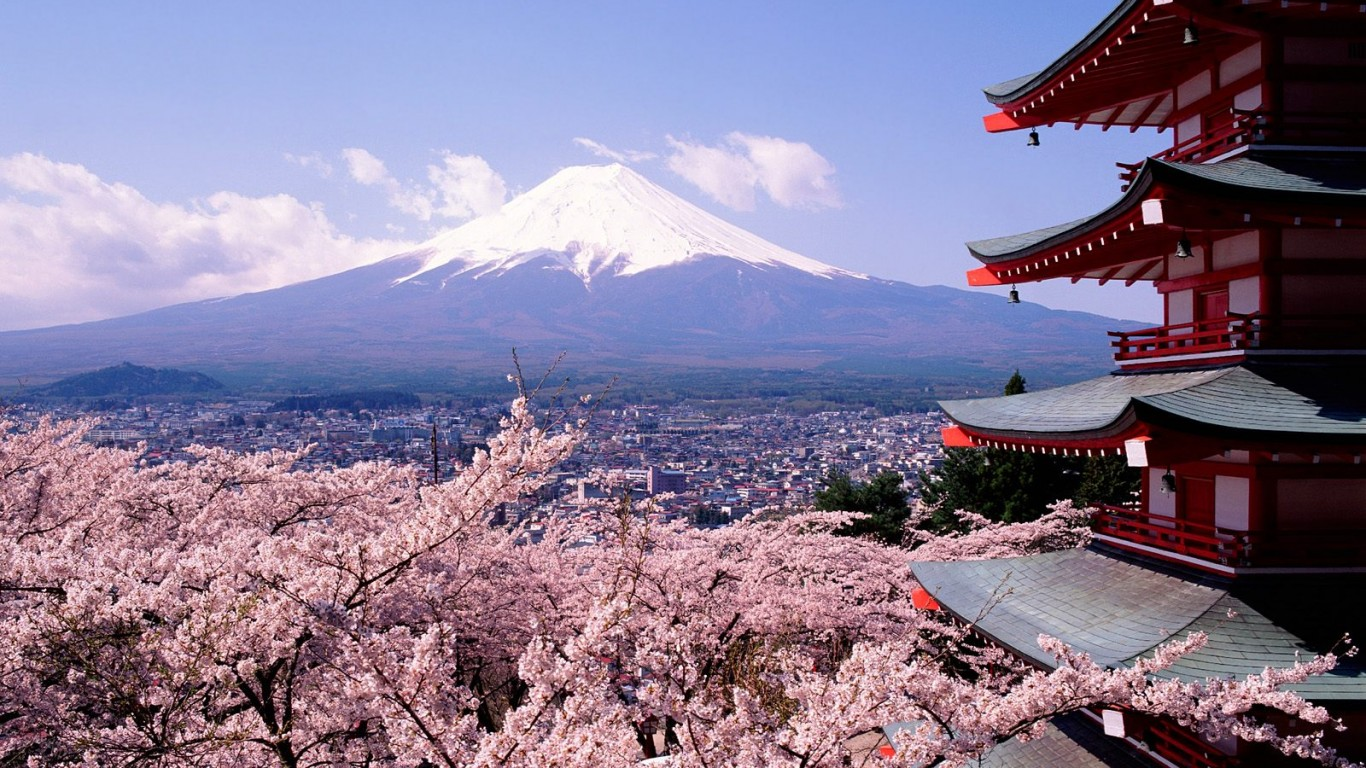 OSAKA - KYOTO - HAKONE - LAKE KAWAGUCHI   FUJI MOUNTAIN - TOKYO