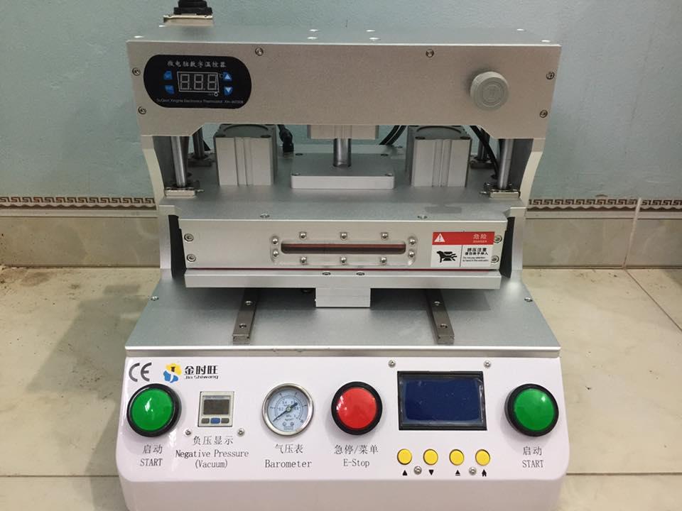 Bộ máy ép kính 14 inch nhập khẩu tự động Jin Shiwang