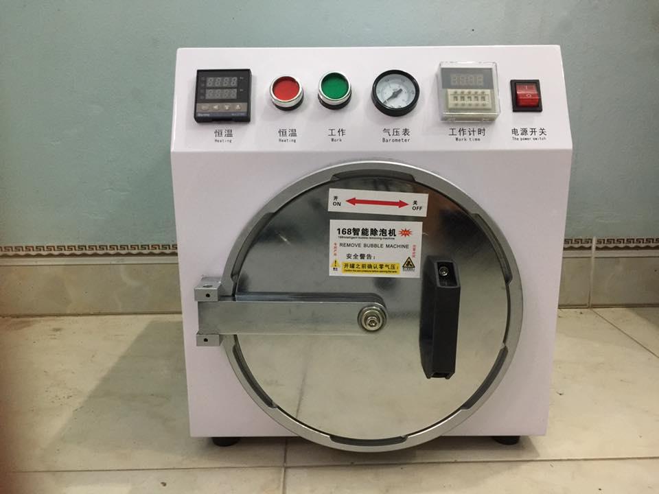 Bộ máy ép kính 16 inch nhập khẩu mẫu ll