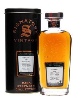 Rượu whisky  Glenlivet 1996 / 14 Year Old / Sherry Butt