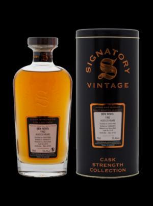 Rượu whisky Ben Nevis 1992 / 20 Year Old / Sherry Butt