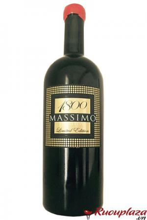 Rươu vang ý Massimo 1800 Limited edition 18 độ