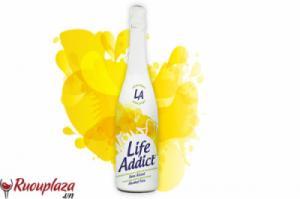 Rượu vang không cồn Life Addict White Grape