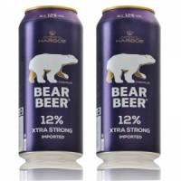 Bia gấu đức Bear Beer extra strong 12%, 500ml
