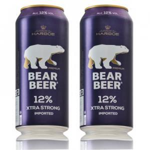 Bia gấu đức Bear Beer extra strong 12%, 500ml