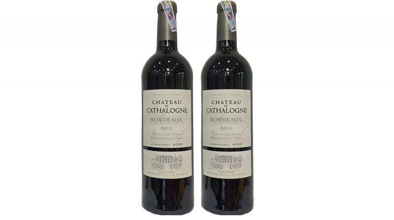 rượu vang pháp bordeaux chateau de cathalogne