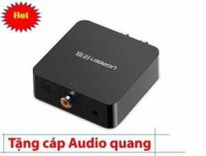 Bộ chuyển âm thanh từ TV xuống Amplifer và ra loa Optical/Coaxial to RCA UGREEN 30910 (đen)