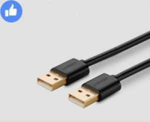 Cáp USB 2 đầu dương 1 mét UGREEN 10309 (màu đen)