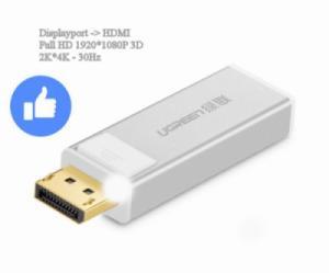 Chuyển đổi Display lên TV HDMI UGREEN 20401 (trắng)