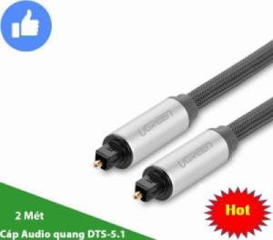 Cáp Audio quang 5.1 2 mét UGREEN 10540 (đầu bọc nhôm)