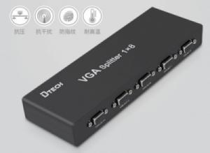 Bộ chia VGA 1 ra 8 250MHz chính hãng DTECH (DF-2508)