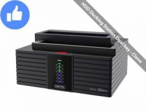 Docking 2 khay SATA USB 3.0 Chính hãng UNITEK Y-3025