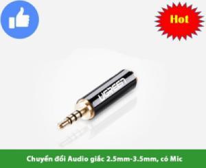 Đầu chuyển tai nghe 2.5 ra 3.5mm UGREEN 20501