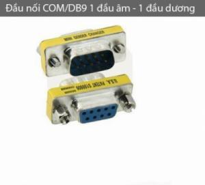 Đầu nối COM/DB9 1 đầu âm, 1 đầu dương