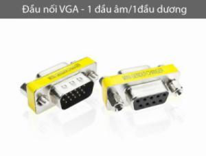 Đầu nối VGA 1 đầu âm, 1 đầu dương (male/female)