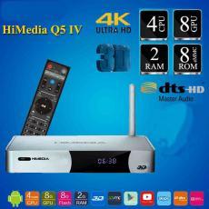 HiMedia Q5IV - Quadcore, 2G Ram, Hỗ Trợ 4K, ISO 3D, DTS HD 7.1