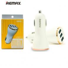 Tẩu sạc ô tô 3 cổng USB Remax Dolfin RCC303