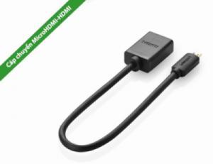 Cáp Micro HDMI ra HDMI Âm Adapter 20Cm UGREEN 20134