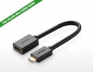 Cáp Mini HDMI ra HDMI Âm Adapter 20Cm UGREEN 20137