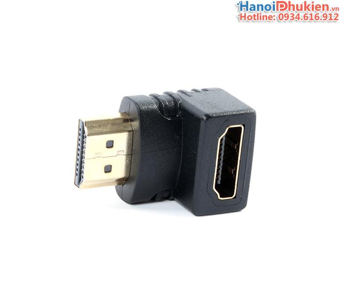 Đầu nối HDMI bẻ góc 90 độ xuống