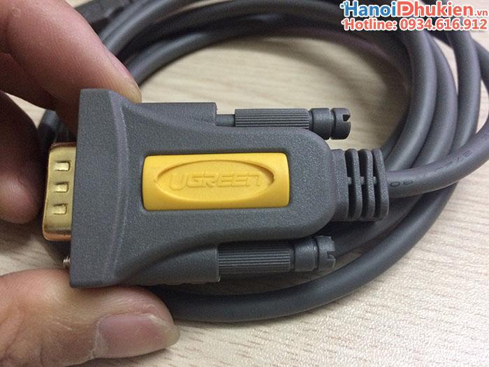 Cáp USB sang RS232 (USB sang COM) chip PL2303 Ugreen 20222