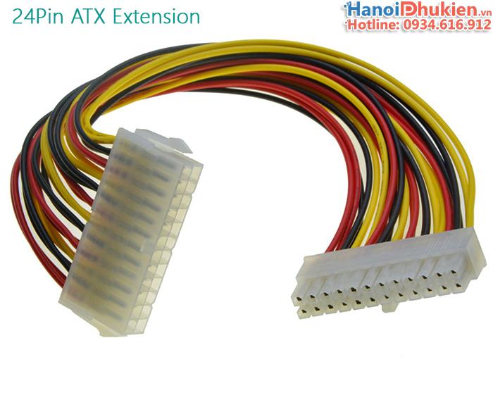 Cáp nối dài nguồn 24pin ATX PSU