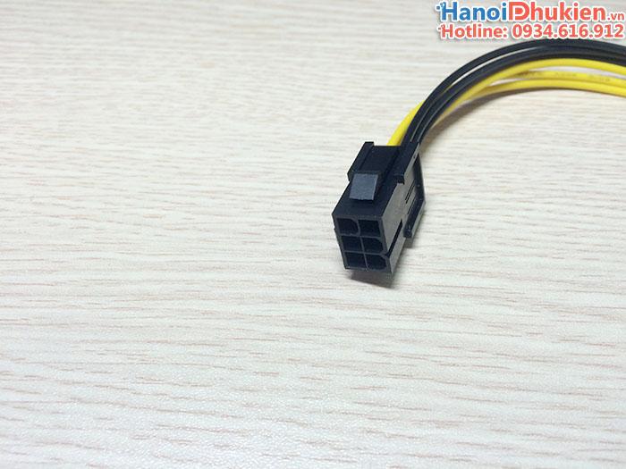 Cáp nối dài nguồn 6Pin Card VGA