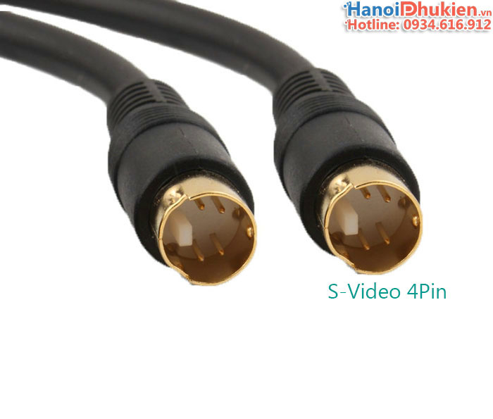 Cáp S-Video to S-Video 1.8M Choseal Q-702