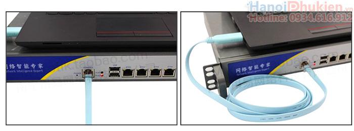 Cáp Console USB sang RJ45 lập trình server, switch, hub Cisco