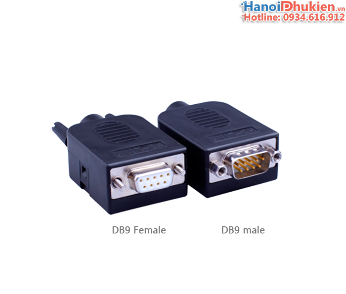 Đầu bấm COM DB9 Male, Female HD-Link