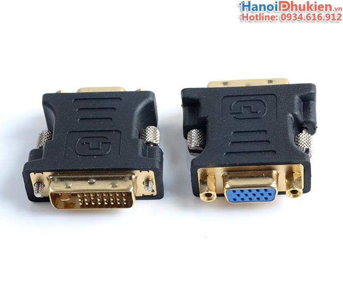 Đầu giắc chuyển đổi DVI-I sang VGA loại tốt