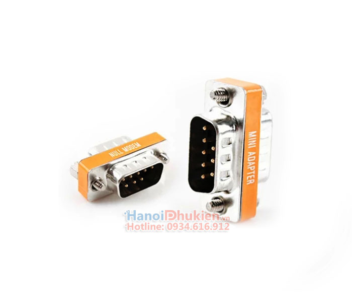 Adapter RS232c Null Modem DB9M-DB9M