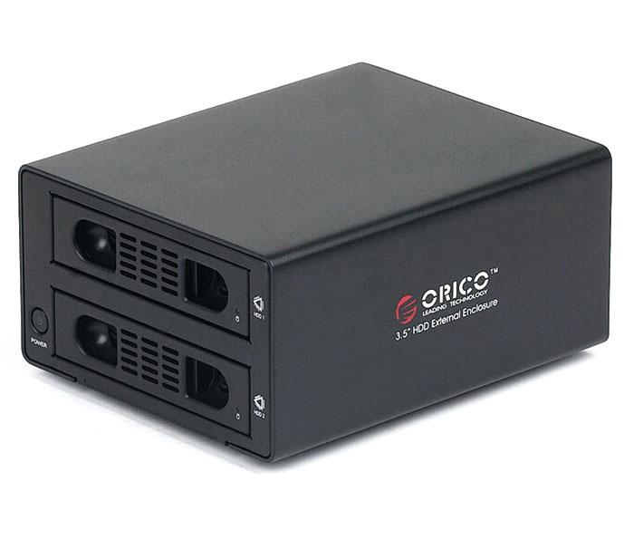 Hộp đựng ổ cứng 2 khay, có chức năng nhân bản Orico 3529SUS3-C