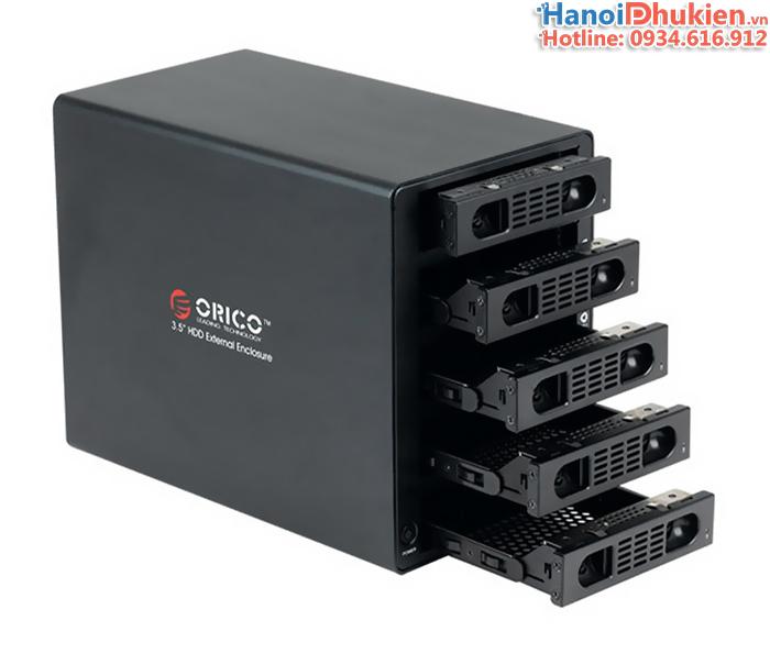 Hộp đựng ổ cứng 5 khay USB 3.0 và Esata hỗ trợ RAID Orico 3559RUS3