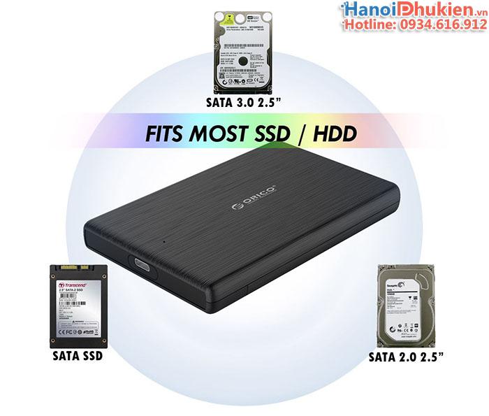 Hộp đựng ổ cứng HDD, SSD Type C Orico 2189C3