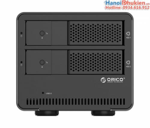 Hộp đựng ổ cứng 2 khay USB 3.0 Orico 9528U3