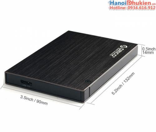 HDD Box 2.5 inches Orico 25AU3 có bao da