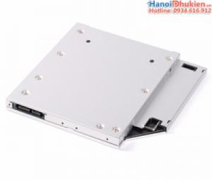 Caddy bay Orico L95SS. Lắp thêm HDD, SSD cho laptop qua khay CD/DVD 9.5mm