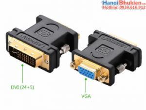 Đầu chuyển đổi DVI-I 24+5 sang VGA Ugreen 20122