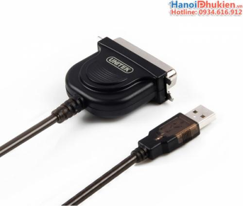 Cáp USB to LPT IEEE 1284 1.5M Unitek Y-120