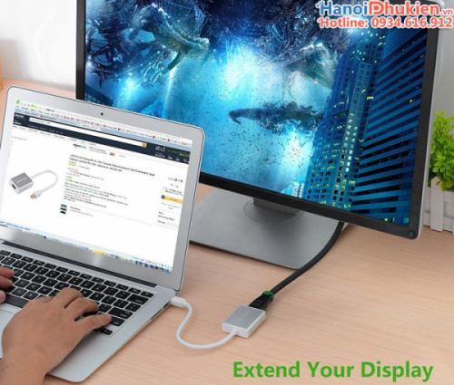 Cáp Mini Displayport, Thunderbolt to HDMI cho Macbook Ugreen 10401