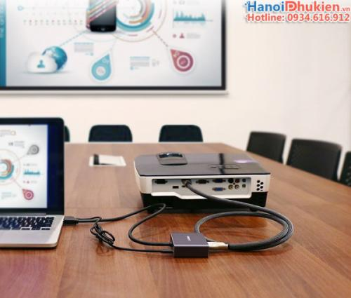 Cáp HDMI sang HDMI Audio 3.5mm, Optical Audio 5.1, 7.1 Ugreen 40281