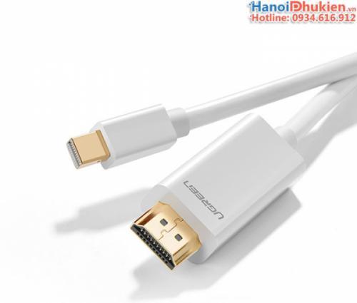 Cáp kết nối Macbook ra Tivi, máy chiếu 3M Ugreen 10419 (trắng)